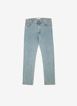 BLUE COTTON Pants - Bally
