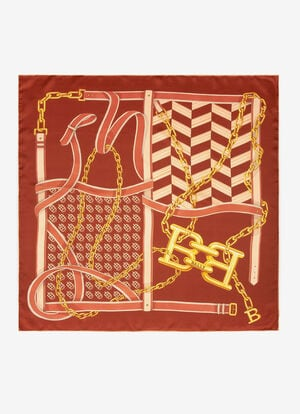 ORANGE SILK Scarves - Bally