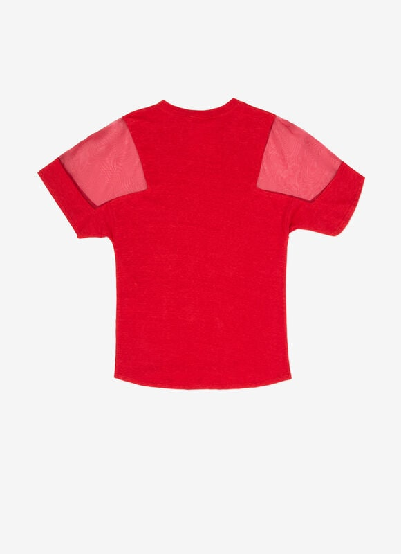 RED MIX LINEN/COTTON Ready To Wear - Bally
