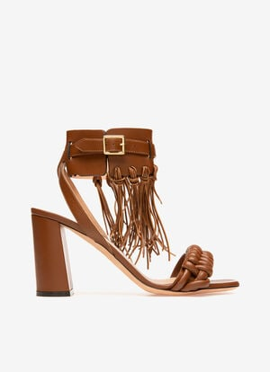 BROWN LAMB Sandals - Bally
