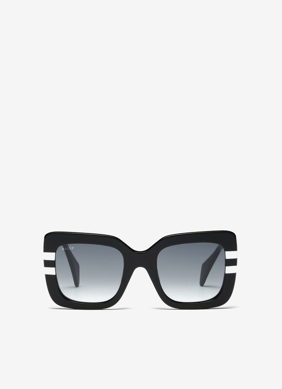 BLACK PLASTIC Eyewear - Bally
