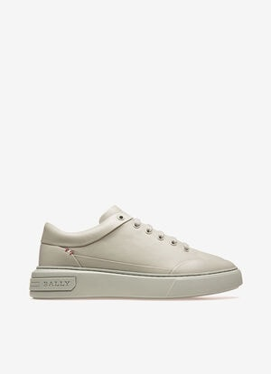 GREY CALF Sneakers - Bally