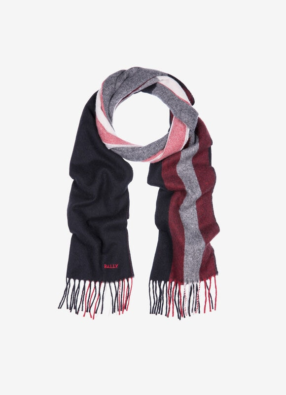 BLACK MIX WOOL Scarves - Bally