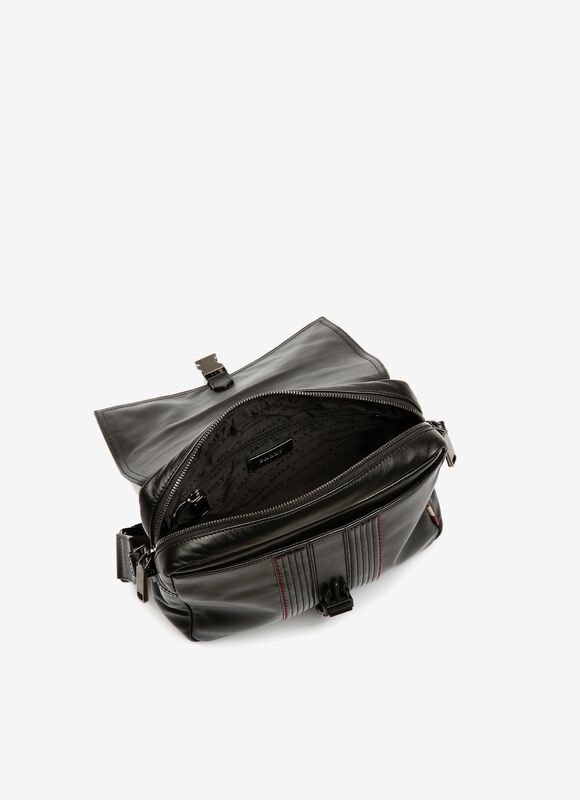 BLACK CALF Messenger Bags - Bally