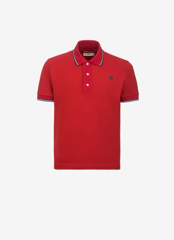 RED COTTON Shirts and T-Shirts - Bally