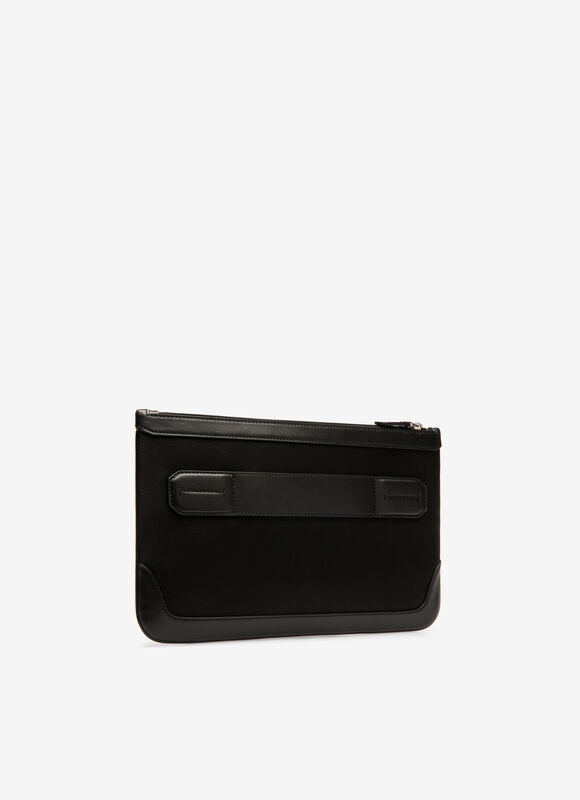 BLACK FABRIC Clutches and Portfolios - Bally
