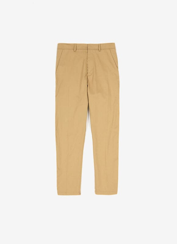 BROWN MIX COTTON Pants - Bally