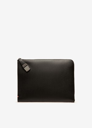 ブラック BOVINE Clutches & Portfolios - Bally