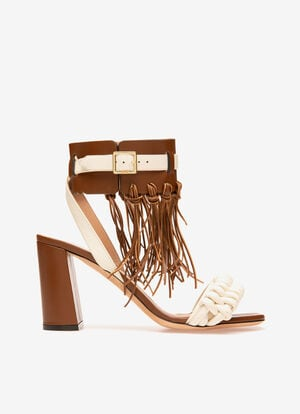 WHITE LAMB Sandals - Bally