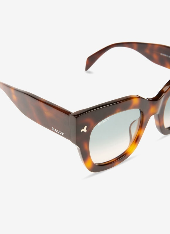 BROWN PLASTIC Eyewear - Bally