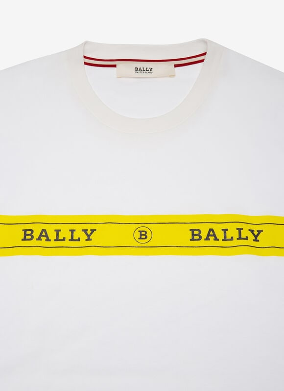 WHITE COTTON Shirts and T-Shirts - Bally
