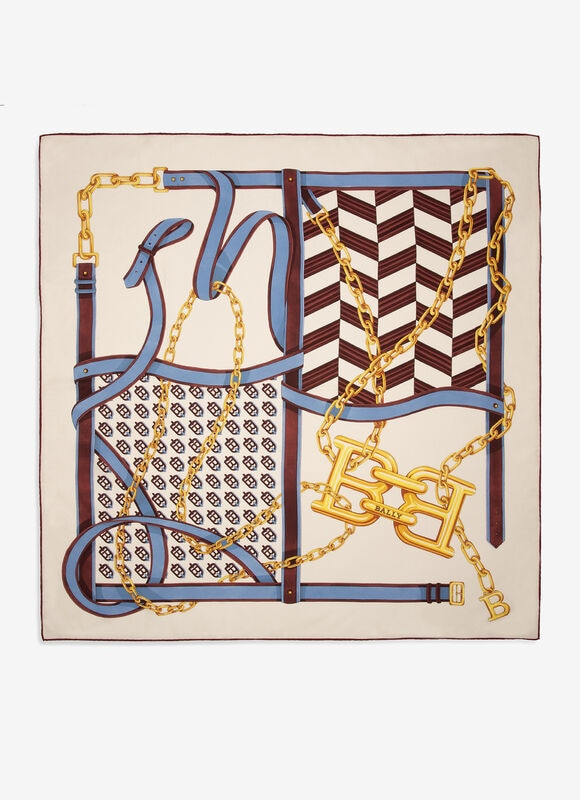 MULTICOLOR SILK Scarves - Bally