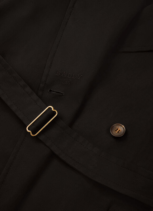 BLACK COTTON Outerwear - Bally