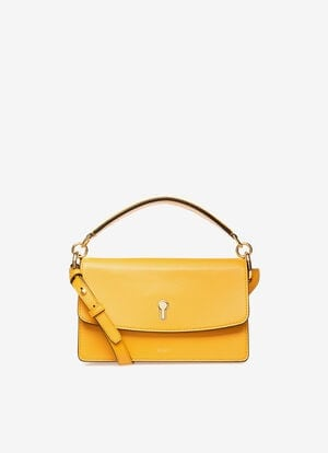YELLOW CALF Cross-body Bags - Bally