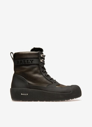 グリーン CALF Snow Boots - Bally