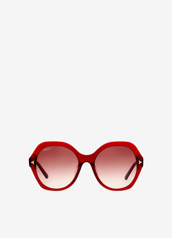 BURGUNDY PLASTIC Eyewear - Bally