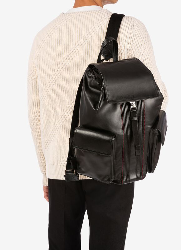 BLACK CALF Backpacks - Bally