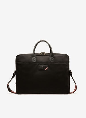 BLACK NYLON Business Bags - Bally