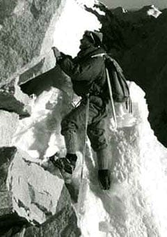 Bally's superior hiking boots: first to conquer Mt Everest
